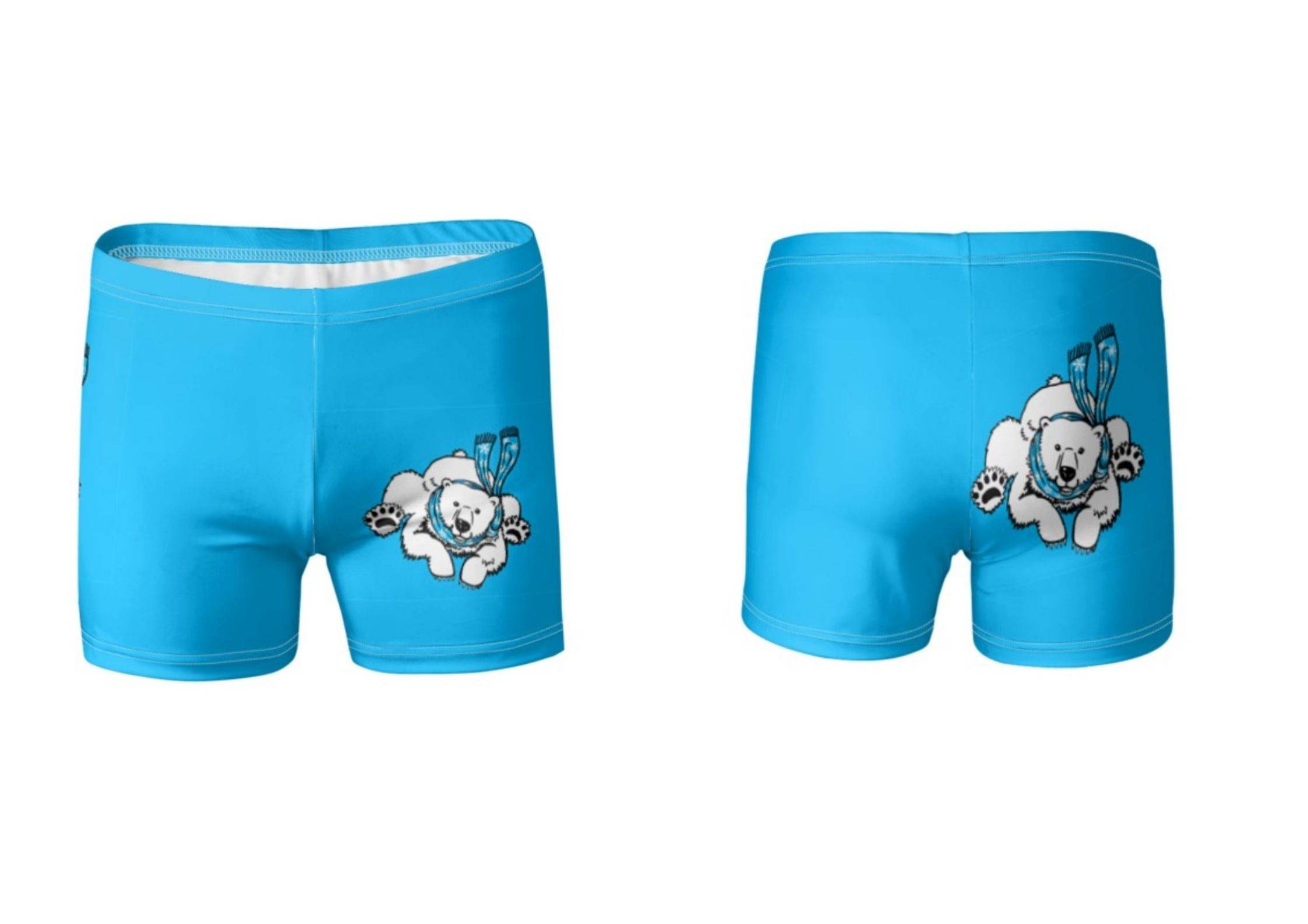 Polar Bear swim trunks