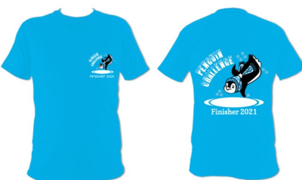 Penguin Challenge Finisher